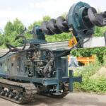 Буровая установка на гусеничном шассиКорвет-05
