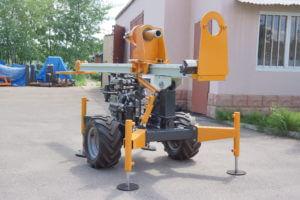 Мобильная установка для завинчивания свай МГБ-50М-01ВС